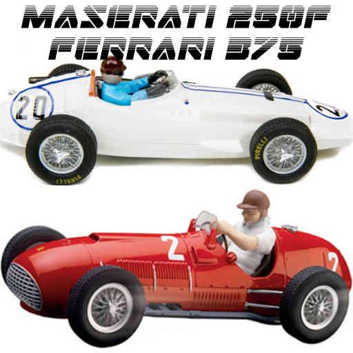Cover Maserati 250F y Ferrari 375